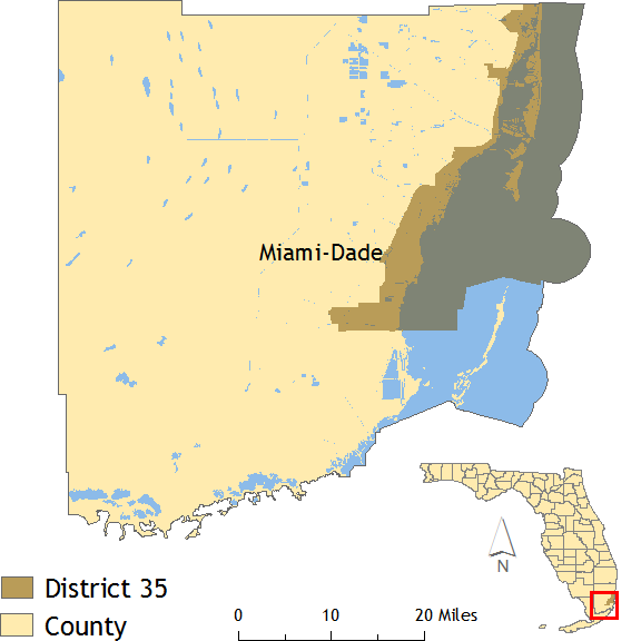 District 35 map
